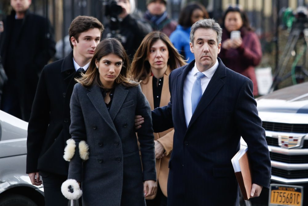 Discussion: Inside The Courtroom When Michael Cohen Was